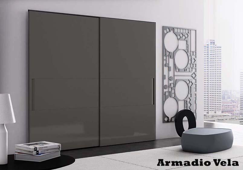 Camera da letto pianca pizeta arredamenti - Armadio moderno design ...